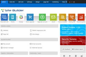 Website Builder Admin