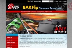 Bakflip Tonneau Cover
