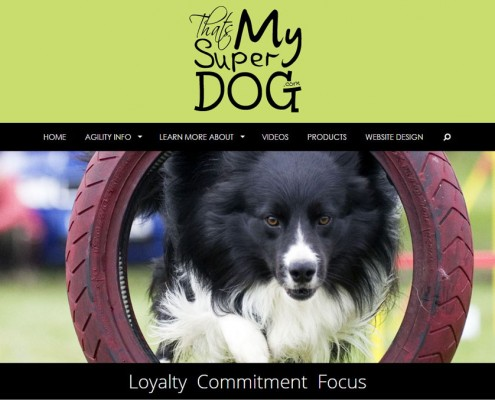 That's My Super Dog - Agility site
