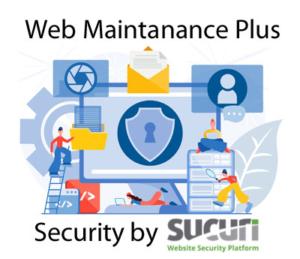 website maintenance plus security