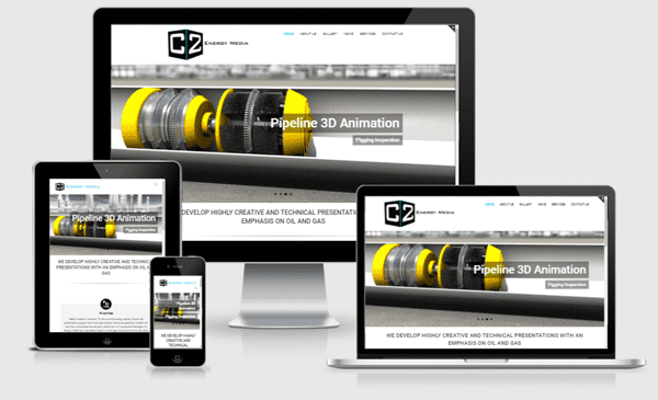 Web Design Austin - Oil and Gas Animation Site