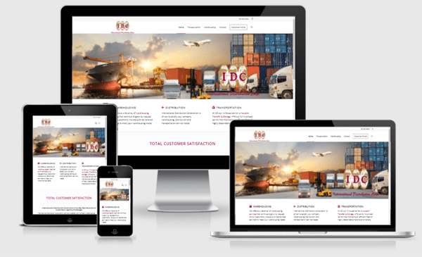 Web Design Austin - Warehousing Site