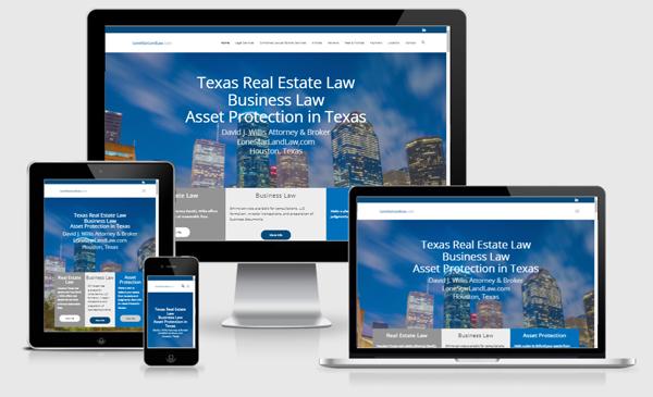 Web Design Austin - Houston Real Estate Attorney