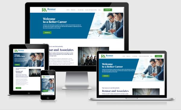 Web Design Austin - Employment Services Agency Site