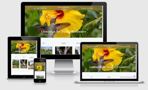Web Design Austin - Community Association Site